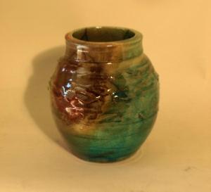 Tyler Espling – Small Raku vase